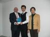 Lucky Draw Presentation - Mark Millar, Doris Chan & Patrick Leung