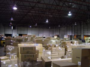Boxes in the Warehouse