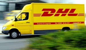 DHL delivery scam email