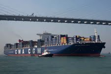 At 396 meters and the capacity to hold 16,020 TEUs, the CMA CGM Marco Polo is now officially the world's largest containership and made her maiden call in  Hong Kong on 13 November 2012